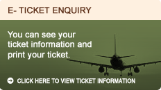 E-ticket enquiry