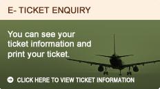 E-ticket enquiry