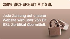 256% sicherheit mit ssl