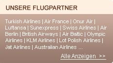 Unsere flugpartner